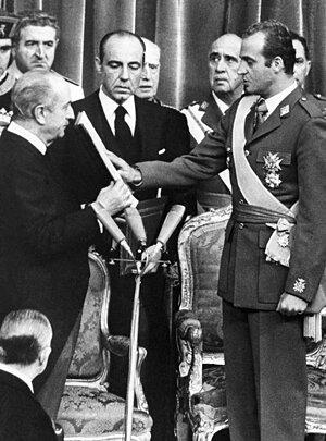 Designación de Juan Carlos de Borbón como sucesor a título de Rey