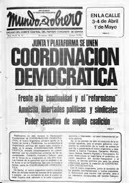 Creación de la Coordinación Democrática