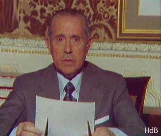 Cese de Arias Navarro como presidente del gobierno