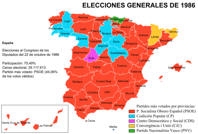 Elecciones de 1986
