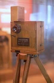 Die erste Filmkamera