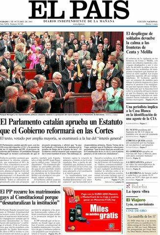 Acuerdo global del Estatut de Cataluña
