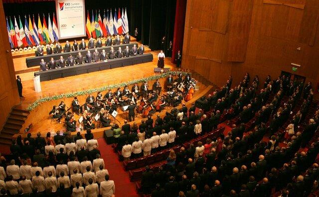 XXVII Cumbre Iberoamericana de Jefes de Estado y de Gobierno en Santiago de Chile,