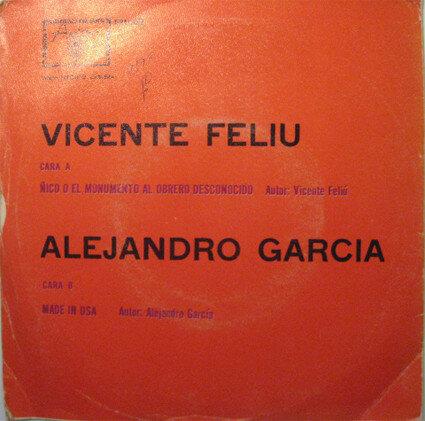 [Grabación Sonora] - Ñico o El monumento al obrero desconocido [Vicente Feliú] / Made in USA.