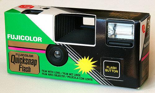La primera cámara desechable