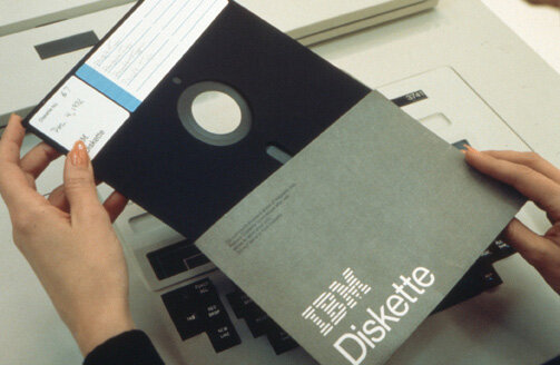 Los disquetes de memoria