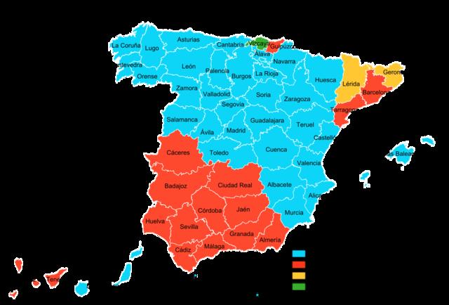 Elecciones de 1996