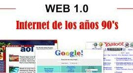 EVOLUCIÓN DE LA WEB1.0 2.0 Y 3.0 timeline