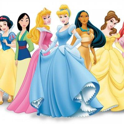 Принцессы в мультфильмах Disney timeline