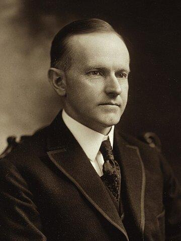 Calvin Coolidge. (1872-1933). (Presidencia: 1923-29). - 30 º Presidente de los Estados Unidos.