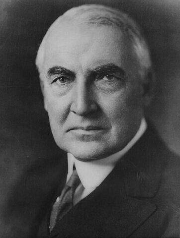 Warren G. Harding (1865-1923) (Presidencia: 1921-1923). - 29º Presidente de los Estados Unidos.