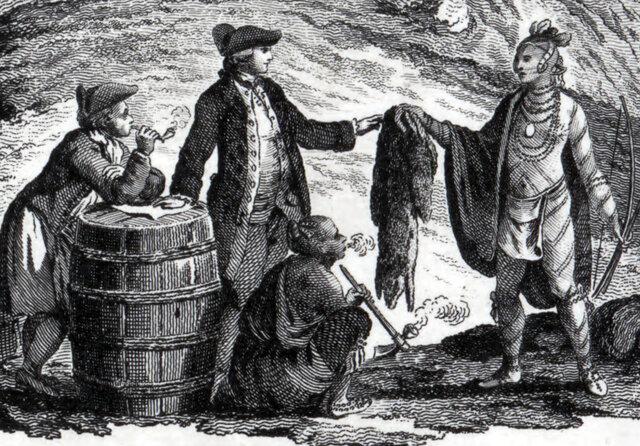Les premières nations et la fourrure au 19e siècle