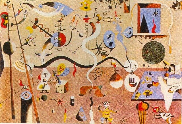 El carnaval del arlequín, Joan Miró