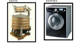 historia de la lavadora  timeline