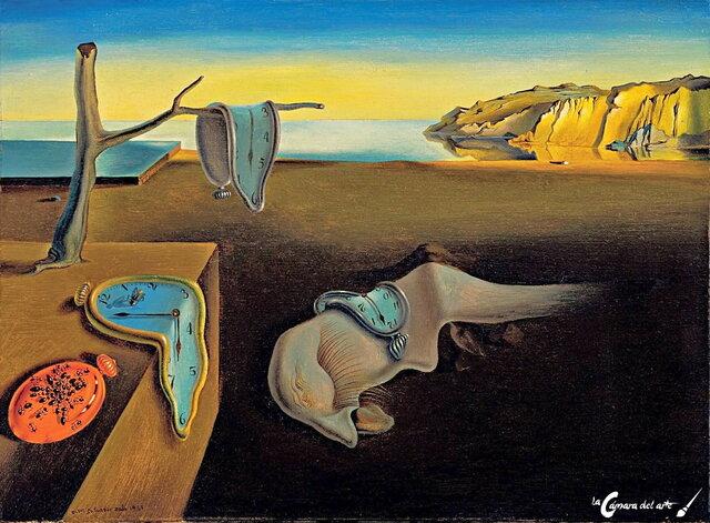 La persistencia de la memoria, Dalí