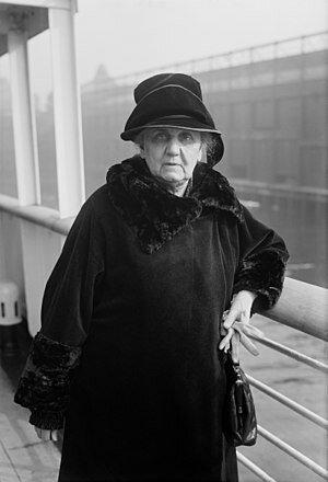 Jane Addams. (1860-1935).