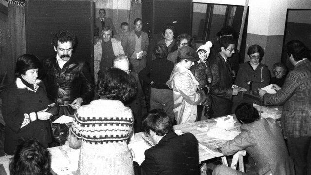 Aprobación por referéndum de la Constitución de 1978
