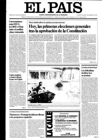 Elecciones generales del 1 de marzo