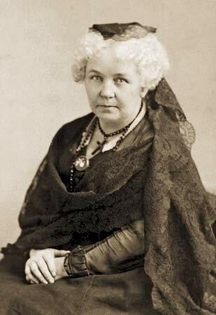 Elizabeth Cady Stanton. (1815-1902).