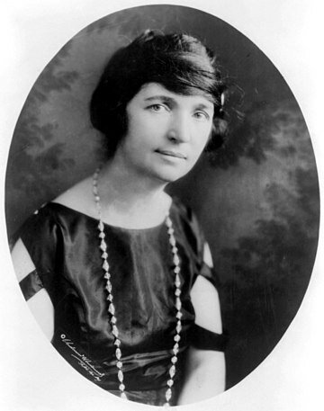 Margaret Sanger. (1879-1966).