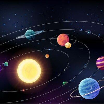 """comprensión de lectura """"El sistema Solar"""" timeline"""