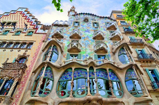 La Casa Batlló, Gaudí