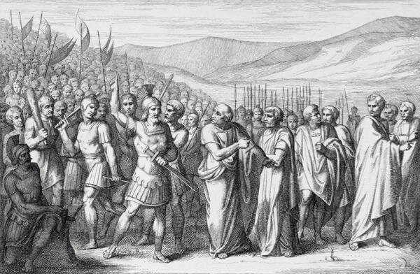I Plebei scappano da Roma esasperati