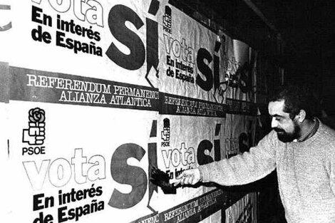 España aprueba en referéndum su entrada en la OTAN