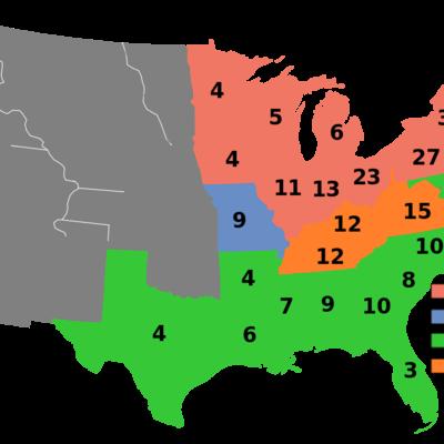 Election of 1860 timeline
