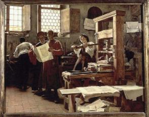 Invento de la imprenta - Johannes Gutenberg