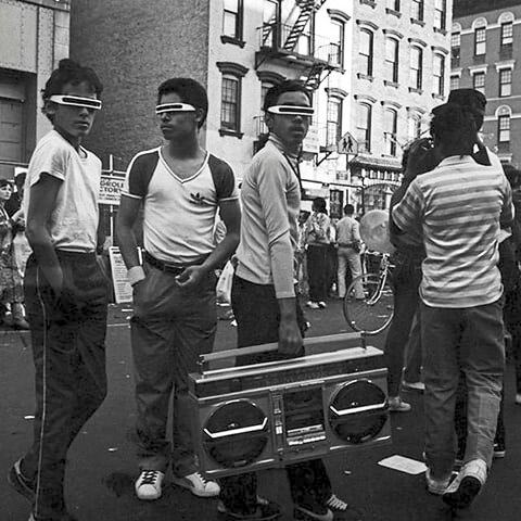Hip hop first appears in the Bronx