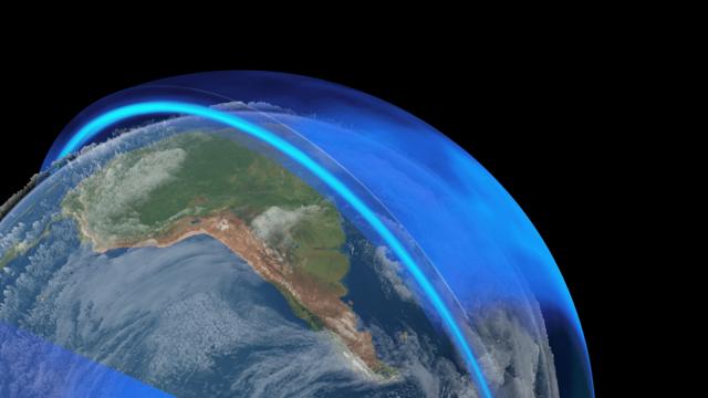 1900MA Formación de la capa de ozono
