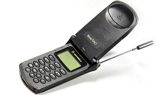 Primer Flip Phone de la historia