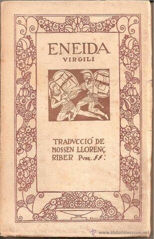 Escriptura de l'obra Eneida, de Virgili