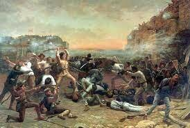 500 Mexican Soldiers Invaded Texas