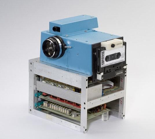 La primera cámara digital