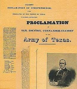 Sam Houstons Proclamation