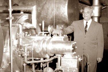 Перша промислова установка для кондиціонування повітря