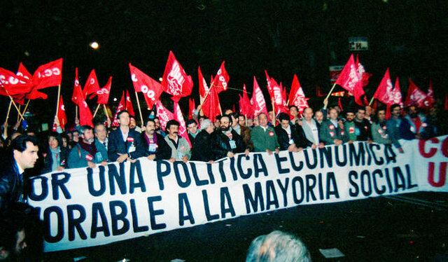 Primera huelga general de la democracia