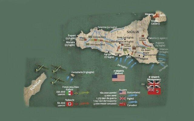 Lo sbarco degli alleati in Sicilia