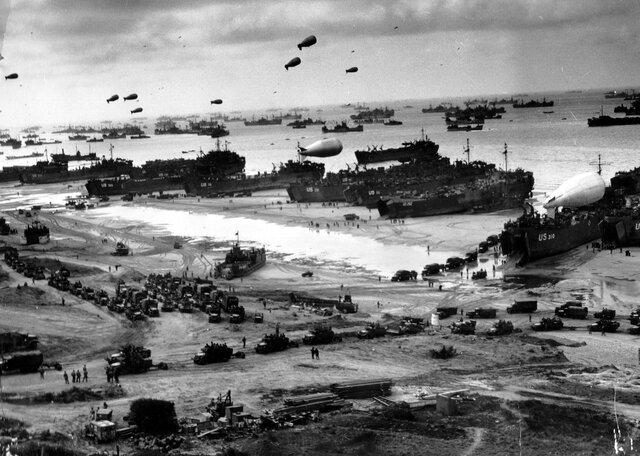 Lo sbarco in Normandia ( seconda metà del 1944)