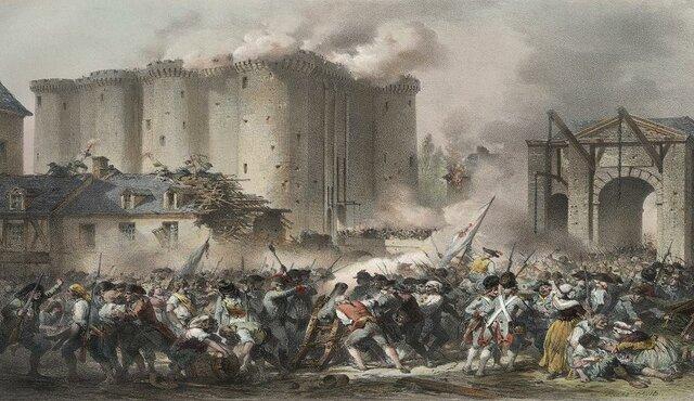 Presa della Bastiglia da parte del popolo Parigino