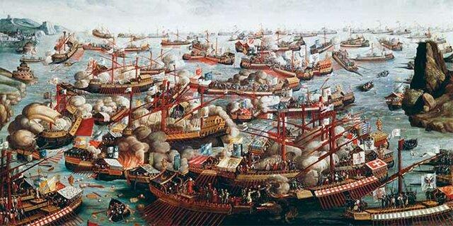 Felip II va vèncer a la batalla de naval Lepant.