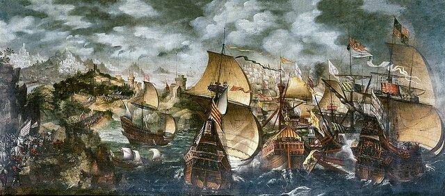 Armada invencible derrotada