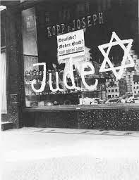 Jewish Store Boycott