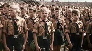 Daniel wears Nazi uniform