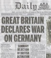 France and Britain Declared War on Germany