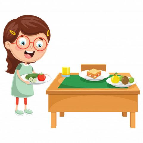 7:40,  préparer le petit-déjeuner