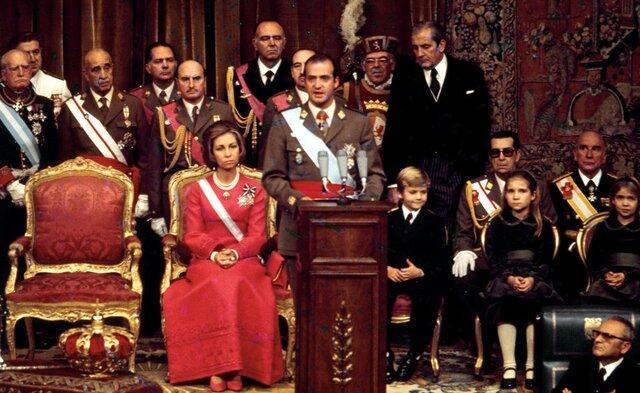 Proclamación de Juan Carlos I como rey.