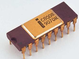 Intel (8008) microprocesador